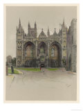 Peterborough Cathedral Cambridgeshire