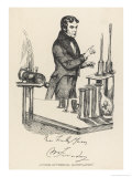 Michael Faraday English Scientist in His Laboratory