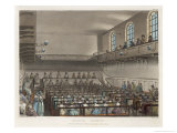 Quakers Meeting in a London Meeting-House