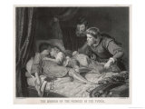 Edward V and Richard Duke of York Lying Dead in the Tower of London