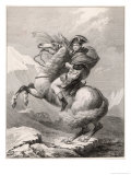 Napoleon I Crossing the Saint-Bernard Pass Through the Alps 1800