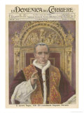Pope Pius XII (Eugenio Pacelli) Newly Installed in 1939