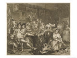 Tavern Scene Illustration to the Rakes Progress