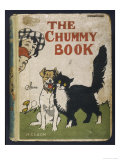 Cover of Nelson's the Chummy Book  Showing a Dog and Cat Making Friends