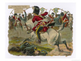Sgt HRamage of the Scots Greys Goes Singlehanded to the Aid of a Trooper