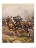 Battle of Edgehill: Prince Rupert&#39;s Charge