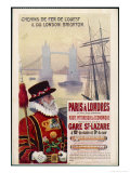 By Rail and Sea from Paris to Brighton or London Featuring a Beefeater and Tower Bridge 1 of 8