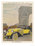 Renault at Arc Triomphe