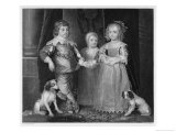 Charles I Charles James Mary and Their Dogs