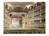 The Interior of the Theatre During a Performance of Shakespeares Coriolanus