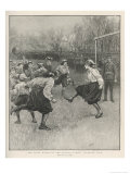 The First Match of the British Ladies&#39; Football Club