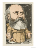 Charles Gounod French Musician and Composer: a Satirical Portrait