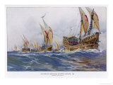 Eighth Crusade the Ships