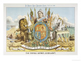 Victoria Depicted with Her Loyal Lion
