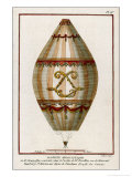 The First Practical Balloon Montgolfier&#39;s First Air Balloon Unmanned was Launched