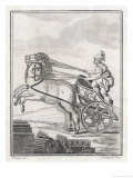 Four-Horse-Power Chariot of the Kind Used in Racing