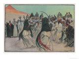 The Sabre Dance of the Bedouin Arabs