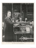 Joseph Chamberlain Liberal Politician Speaking in the House of Commons on 2 August 1901