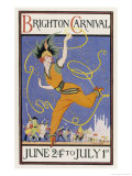 Poster for the Brighton Carnival 24 June to 1 July
