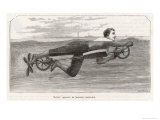 Richardson&#39;s Swimming Device Allows One to Sally Forth by Pedalling a Propellor Underwater