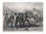 Haiti: French and Patriots in Hand-To-Hand Combat