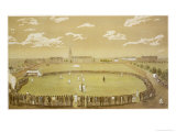 The Old Days of Merry Cricket Club Matches&#39; at the Hyde Park Ground Sydney Australia