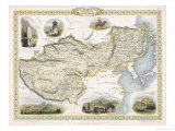 Map of Tibet Mongolia and Manchuria