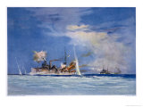 Hms Sydney Opens Fire on the German Cruiser Emden