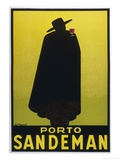 Sandeman Port, The Famous Silhouette Giclée premium par Georges Massiot
