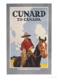 Cunard to Canada  a Welcome Awaits You
