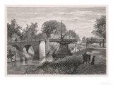 Swing Bridge on the Sodertelge Canal Sweden