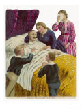 Albert on His Deathbed with His Grieving Children