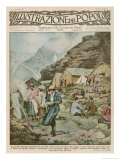 Summer Camp for Women Members of the Italian Alpine Club High in the Mountains