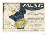 Advertisement for Helena Rubinstein's Valaze Beauty Cream