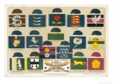 Badges Caps and Colours of English County Cricket Clubs