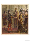 The Marriage of Henry V of England and Catherine de Valois the Daughter of Charles VI of France