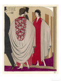 Voluminous Cape Like Evening Coat by Paul Poiret