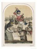 The Concert des Chats  a Feature of the Foire de Saint- Germain