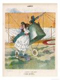 The Aviator Bids Adieu to His Girl