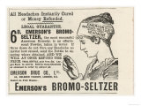 Emerson's Bromo-Seltzer Cures All Headaches However Caused