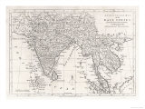 India and Its Neighbours: Note That Burma is Named India Beyond the Ganges