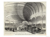 Reception of Queen Victoria at the Central Railway Station Newcastle-Upon-Tyne