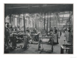 Women Working at the Coventry Machinists&#39; Company Cycle Works Warwickshire