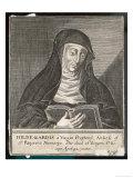 Saint Hildegard Von Bingen German Religious Founder and Abbess of Convent of Rupertsberg