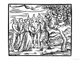 Witches at the Sabbat Dance with Demons
