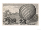 Ballooning Pioneers Charles and Robert Land at Nesles France