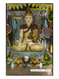Siddhartha Gautama the Buddha  Image of the Buddha at Rangoon