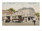 Trams at Finsbury Park London 'The Boy Stood on the Tramway Line the Driver Rang His Bell