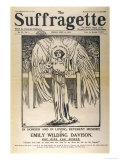 Front Cover of &quot;The Suffragette&quot; Dedicated to Emily Davison