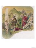 Jesus is Baptised by John